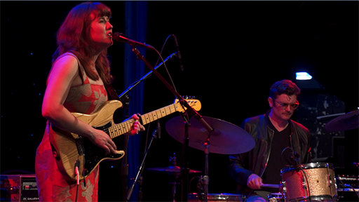 Anna Coogan and Willie B perform live at Seattle's Triple Door in April 2017.